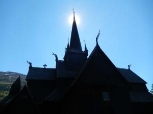 Die Stabkirche von Lom.