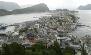 Alesund vom Aksla aus gesehen - Reiseleiter in Dresden, Deutschland und Europa