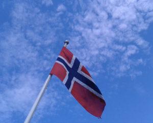 Norwegische Fahne